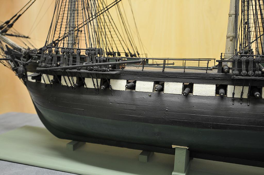 [Courtesy Naval History & Heritage Command Detachment Boston. Photo by James Almeida.]